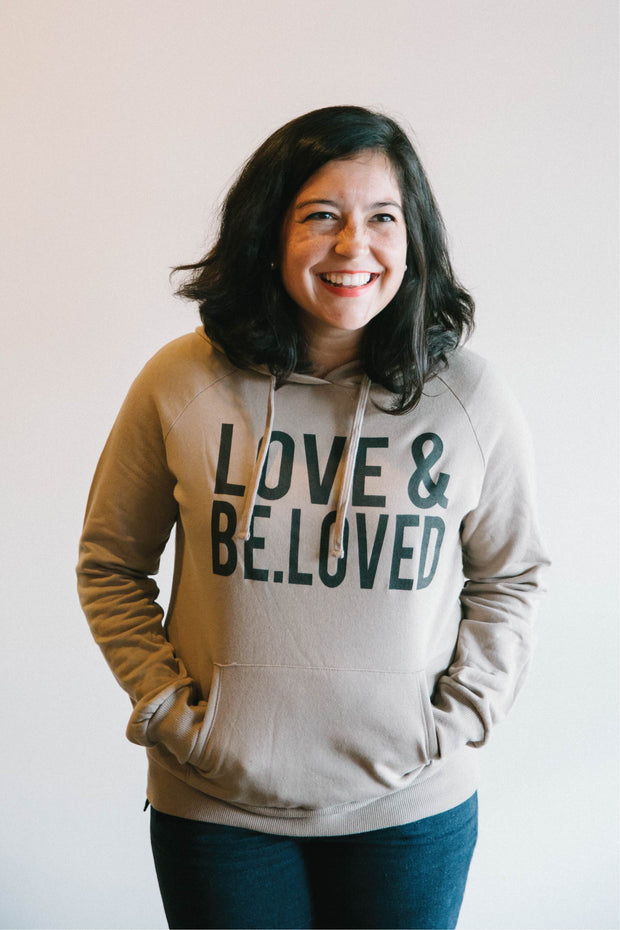 LOVE & BE.LOVED Hooded Sweatshirt
