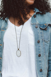 "Classic Define Necklace (30"" Chain)"