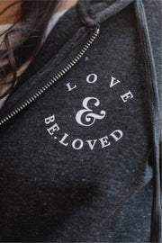 All-Around LOVE & BE.LOVED Zip Up Hoodie Fleece Jacket