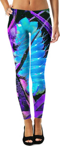 ULTRAVIOLET POLY CUSTOM LEGGINGS