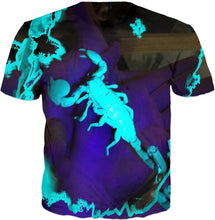 Load image into Gallery viewer, ULTRAVIOLET SCORPION T-SHIRT