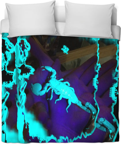 ULTRAVIOLET SCORPION DUVET COVER