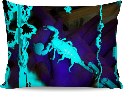 ULTRAVIOLET SCORPION PILLOWCASE