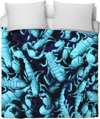 UV SCORPION II DUVET COVER