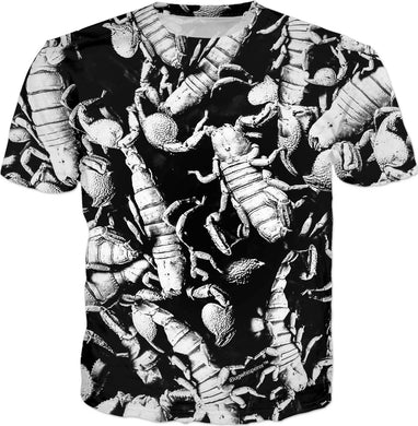 BW SCORPION MEN'S T-SHIRT