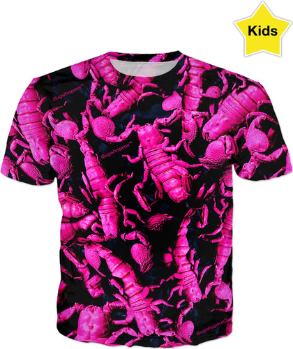 BUBBLEGUM SCORPION KID'S T-SHIRT