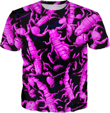 PURPLE SCORPION MEN'S T-SHIRT