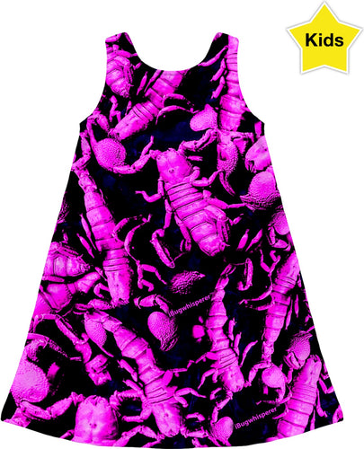 PURPLE SCORPION KIDS DRESS