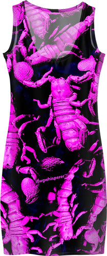 PURPLE SCORPION DRESS
