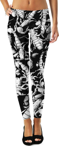 B&W SCORPION LEGGINGS