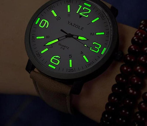 LUMINOUS WRIST WATCH