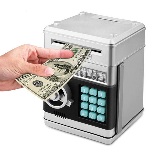 COMPACT ELECTRONIC PIGGY BANK
