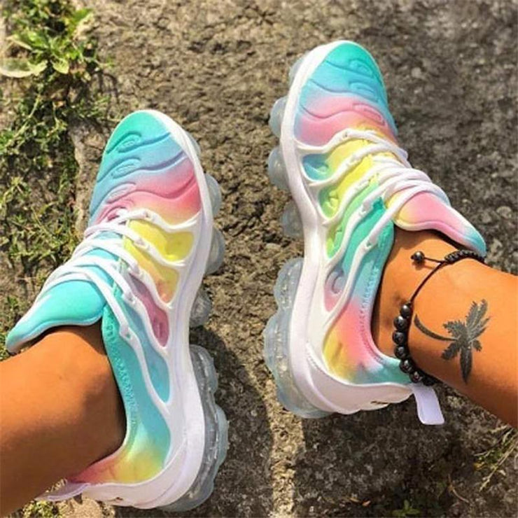 Color Soft Sole Transparent Casual Sneakers