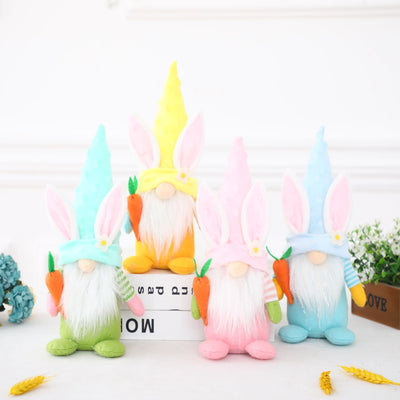 (Pre-sale)Handmade Adorable Bunny Gnome Doll For Easter New Style Gift