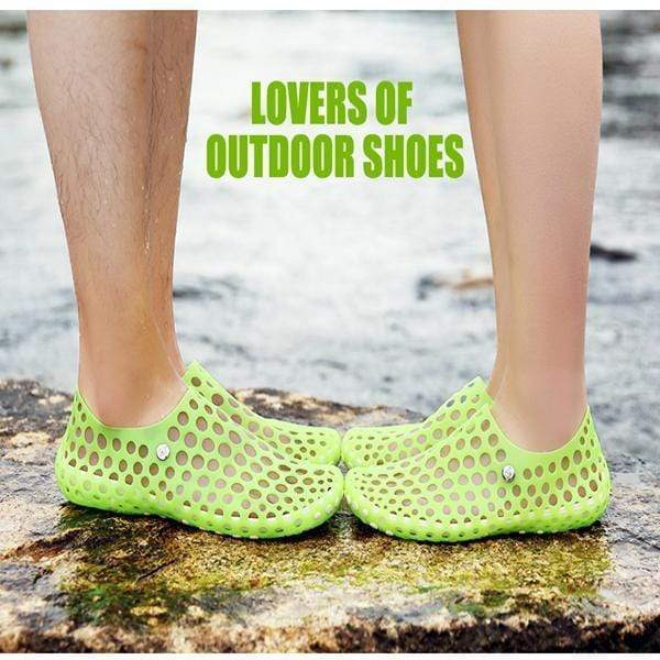 【50% OFF Today,Buy 2 Get Free Shipping】Women's and Men's Ultralight Hollow Sandals Breathable Comfort Water Shoes