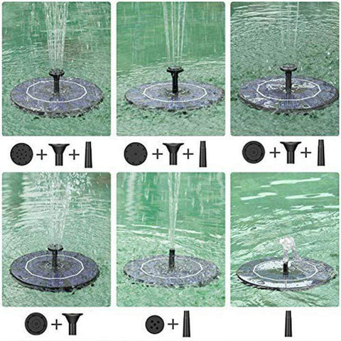 50% OFF-Solar Powered Bionic Fountain(Buy 2 Free Shipping)