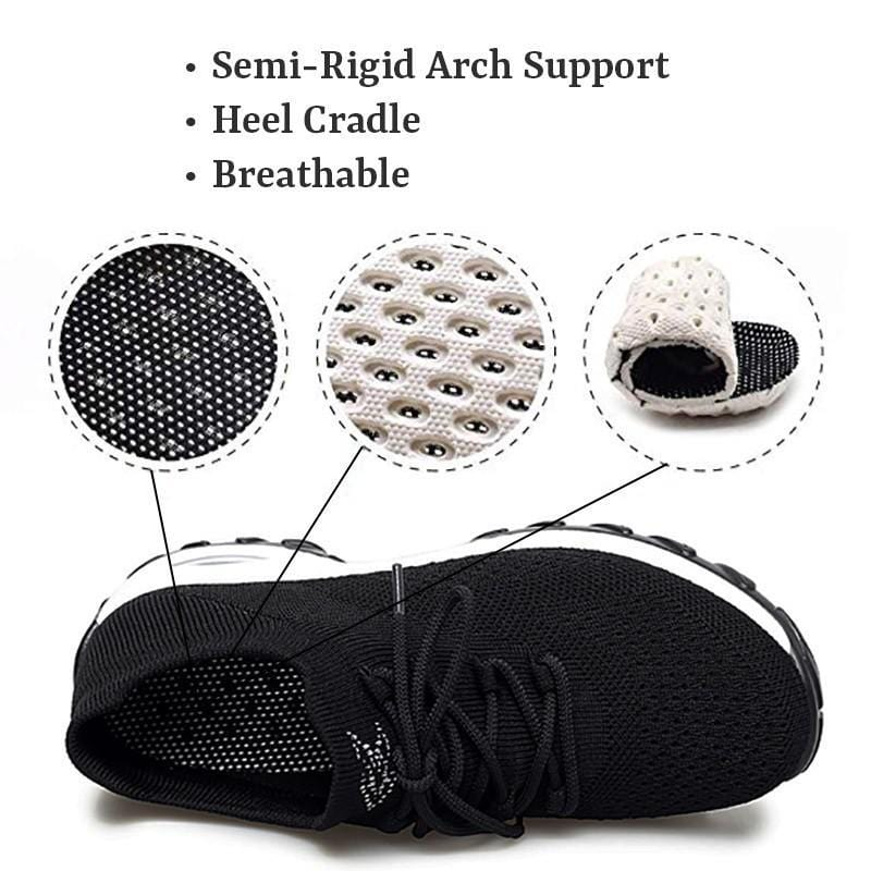 Women's Flying Woven Non-slip Breathable Comfortable Shoes