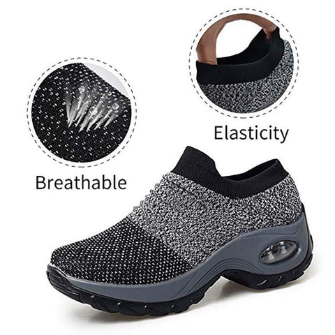 Women's Thick-heels Comfortable Hiking Shoes