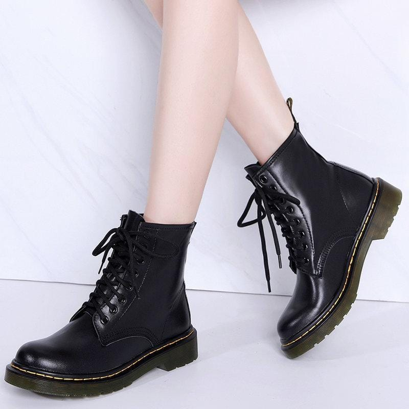 🔥Hot Sale🔥2019 Boots Women Genuine Leather Shoes