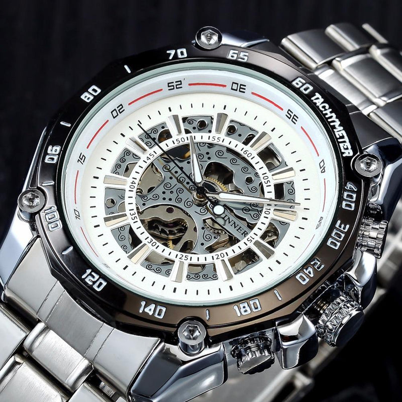 Luminous Steel Men Automatic Mechanical Watch