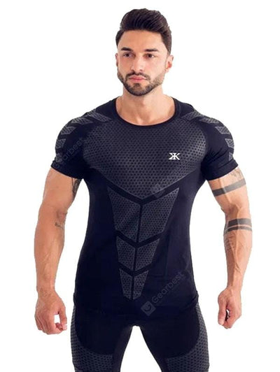 Men's Quick Dry Breathable Training T-shirt