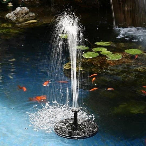 50% OFF Solar Powered Bird Fountain