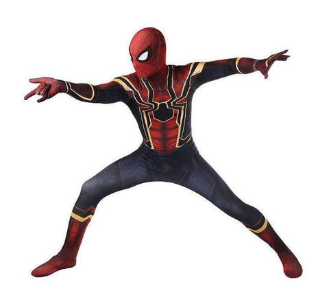 (Hot Sale)Spider-Man Costume Halloween Cosplay 3D Printed Suit-Buy 2 get free shipping