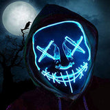 Halloween Mask LED Light Up Mask (Buy 2 Free Shipping)