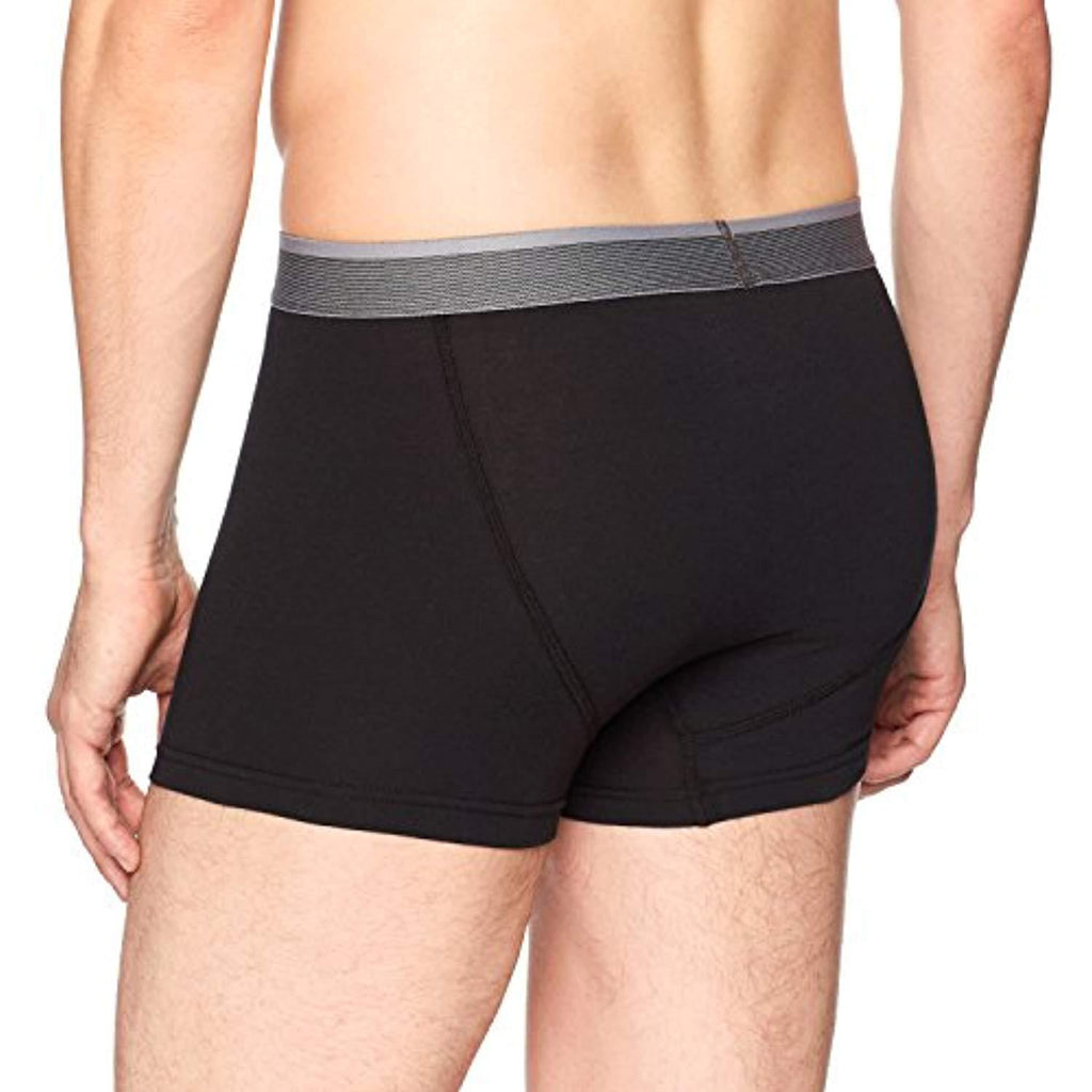 Men's 3-Pack Performance Cotton Stretch Trunk