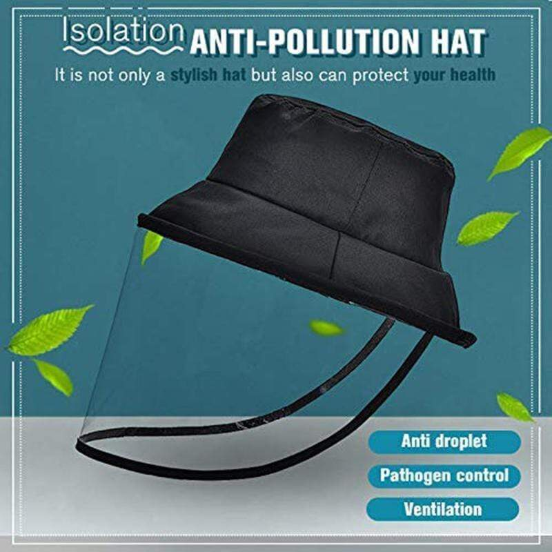 (BUY ONE FREE ONE)A Reusable PROTECTION HAT: Wind-proof, dust-proof, saliva-proof.Essential items for going out
