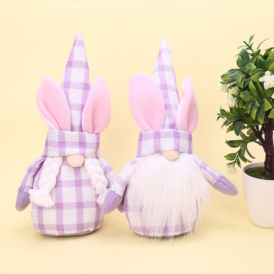 Easter Faceless Gnome Dolls For Holiday Ornaments