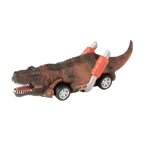 Pull Back Dinosaur Cars Toys 6 Pack Dinosaur Roadster Party Favors Games Toy