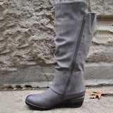 Womens Western Cowboy Knee Boots Punk Boots(Free Shipping)