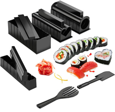 DIY sushi set tool to easily make various shapes of sushi