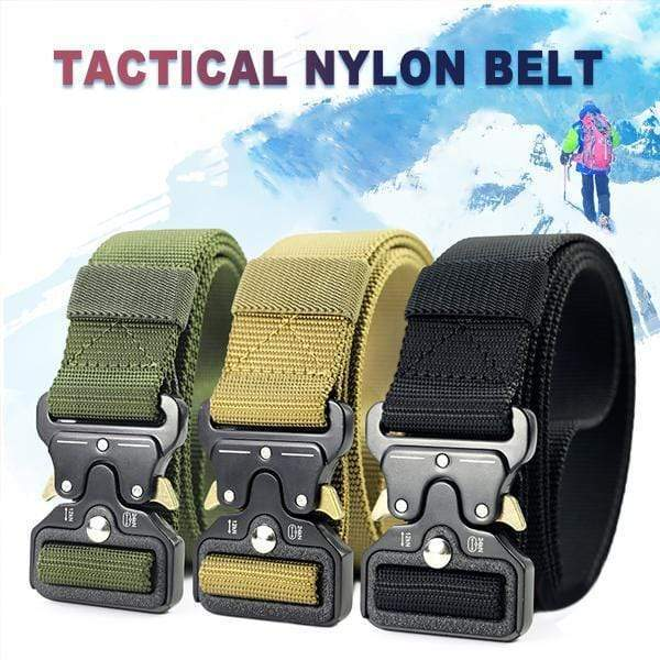 【50% OFF】 Military Style Tactical Nylon Belt---Buy 2 free shipping