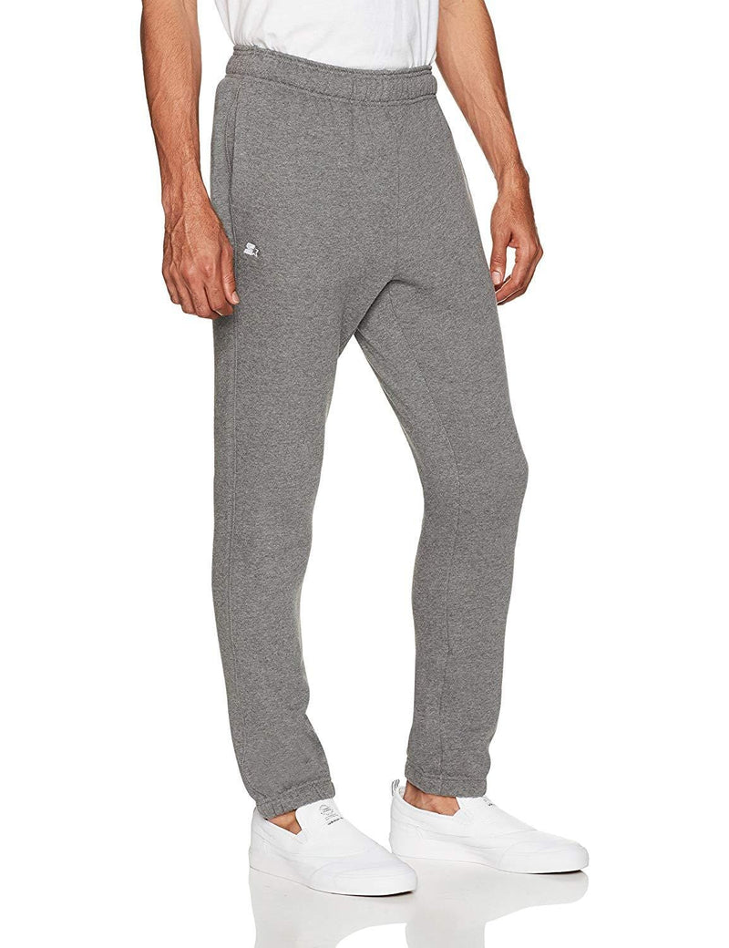 Starter Men's Elastic-Bottom Sweatpants with Pockets, Amazon Exclusive