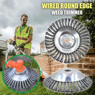 Wired Round Edge Weed Trimmer