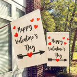 Double Sided Valentines Garden Flag For Outdoor Indoor Decoration  Valentine's Day Gift