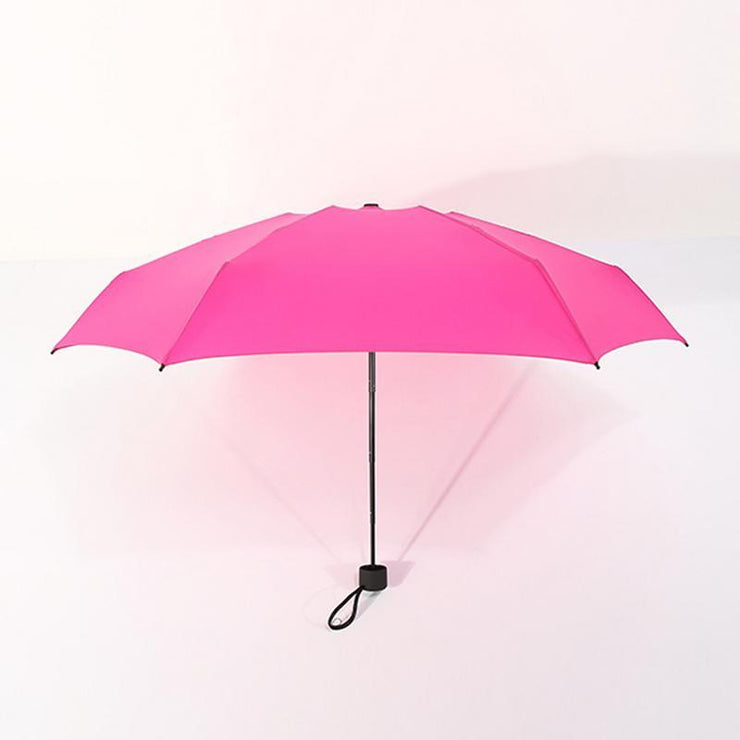 9colors Mini Pocket Umbrella Women UV Small Umbrellas Parasol Girls Anti-UV Waterproof Portable Ultralight Travel Dropshipping