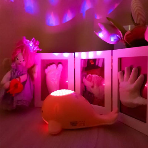 Little Fish Projector Musical Night Light