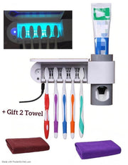 3-in-1 Toothbrush Sterilizer Holder Wall Mounted--Buy 2 free shipping