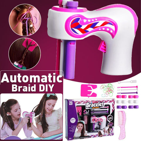 DIY Automatic Hair Braider Kits - Add sparkle to your hair and accessories!