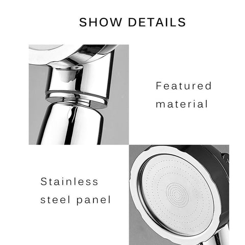 3 In 1 High Pressure Shower Head (2019 new arrival)