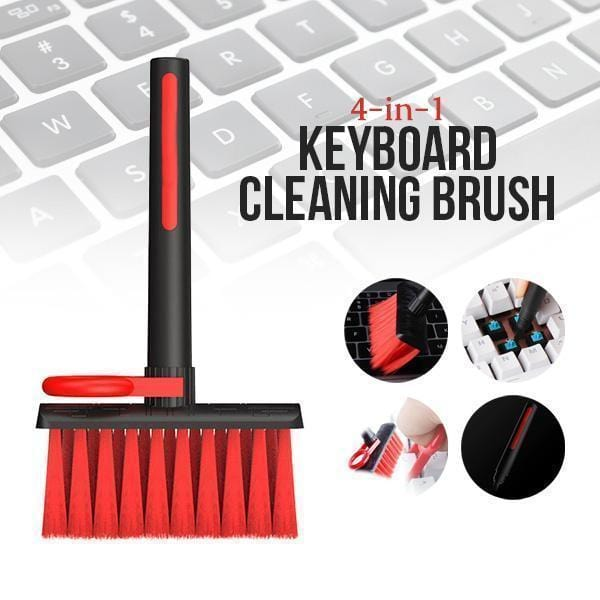 4-In-1 Keyboard Cleaning Brush
