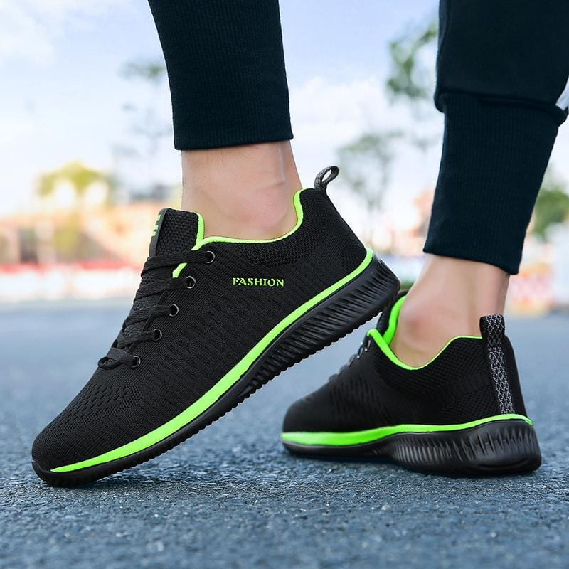 Men's Brand Casual Shoes Breathable Soft Sneakers High Quality Mesh Summer Flying Fabric Casual Shoes Krasovki Zapatos Hombre