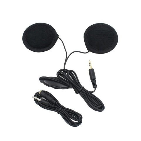Motorbike Motorcycle Helmet Headset Speakers 3.5mm jack Earphone Headphone Speaker for Motorcycle Helmet Interphone MP3/GPS