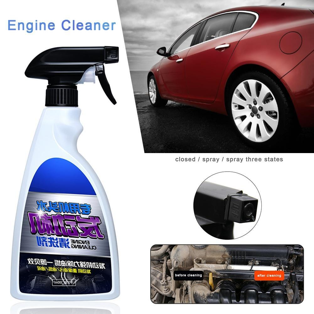 New Style 500ml Car Engine Remove Oil Rust Remover Cleaner Auto Beauty Maintenance Products Repair Tool