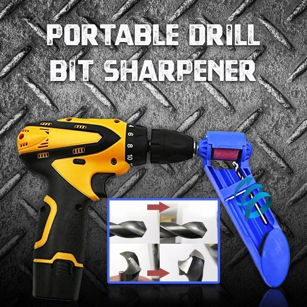 Portable Drill Bit Sharpener