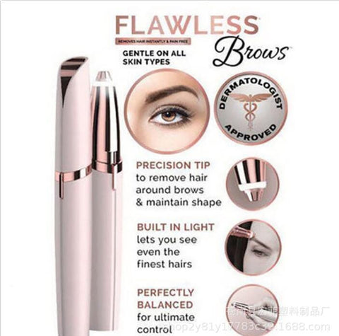 ELECTRICAL PAINLESS EYEBROW TRIMMER(Buy 2 free shipping)