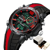 Digital Watch Men Sports FashionWaterproof LED Digital Watch